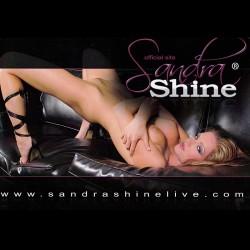 Sandra Shine's Autograph Card